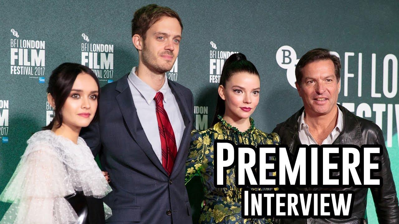 Thoroughbreds Premiere Interviews