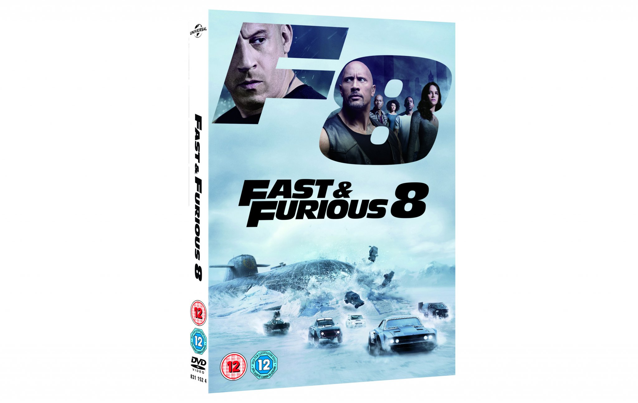 win fast and furious 8 on dvd heyuguys. Black Bedroom Furniture Sets. Home Design Ideas