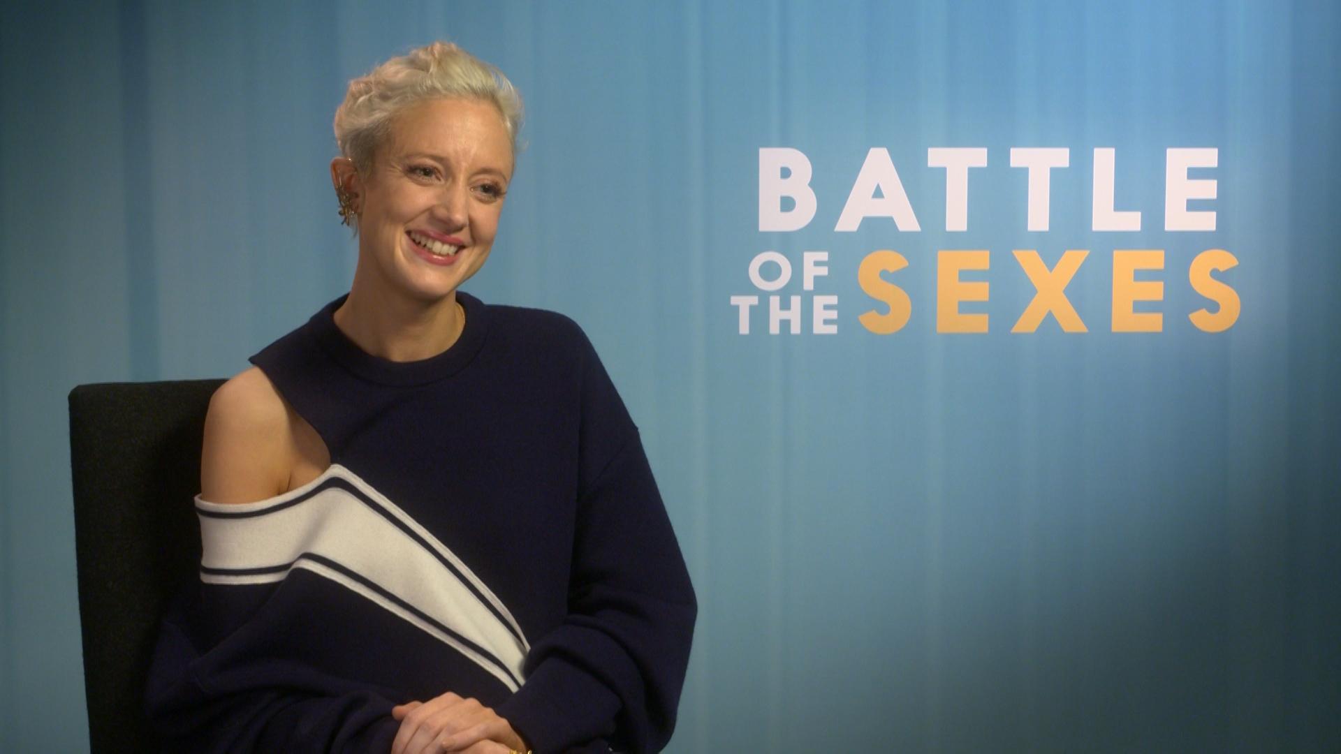 Andrea Riseborough Nude exclusive: andrea riseborough talks battle of the sexes