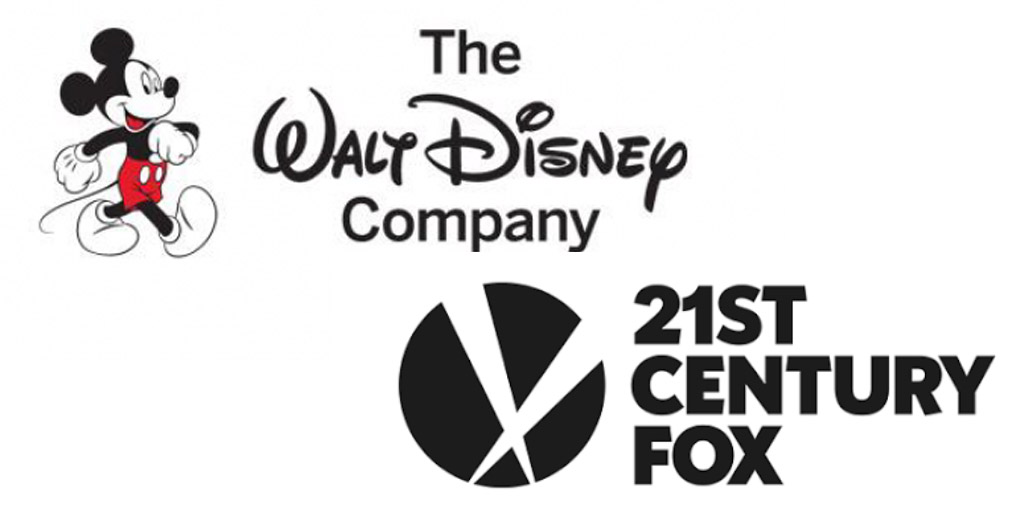 The Walt Disney Company & Fox Logos