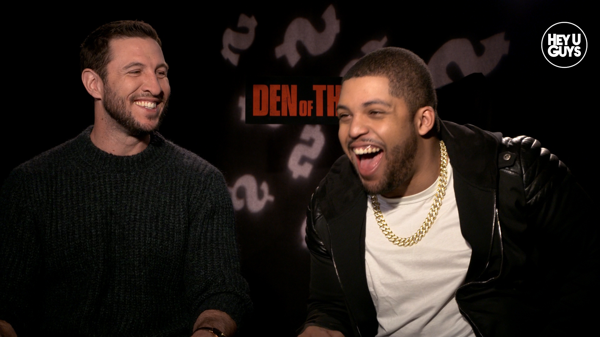 Pablo Schreiber & O'Shea Jackson Jr. - Den of Thieves Exclusive Interview