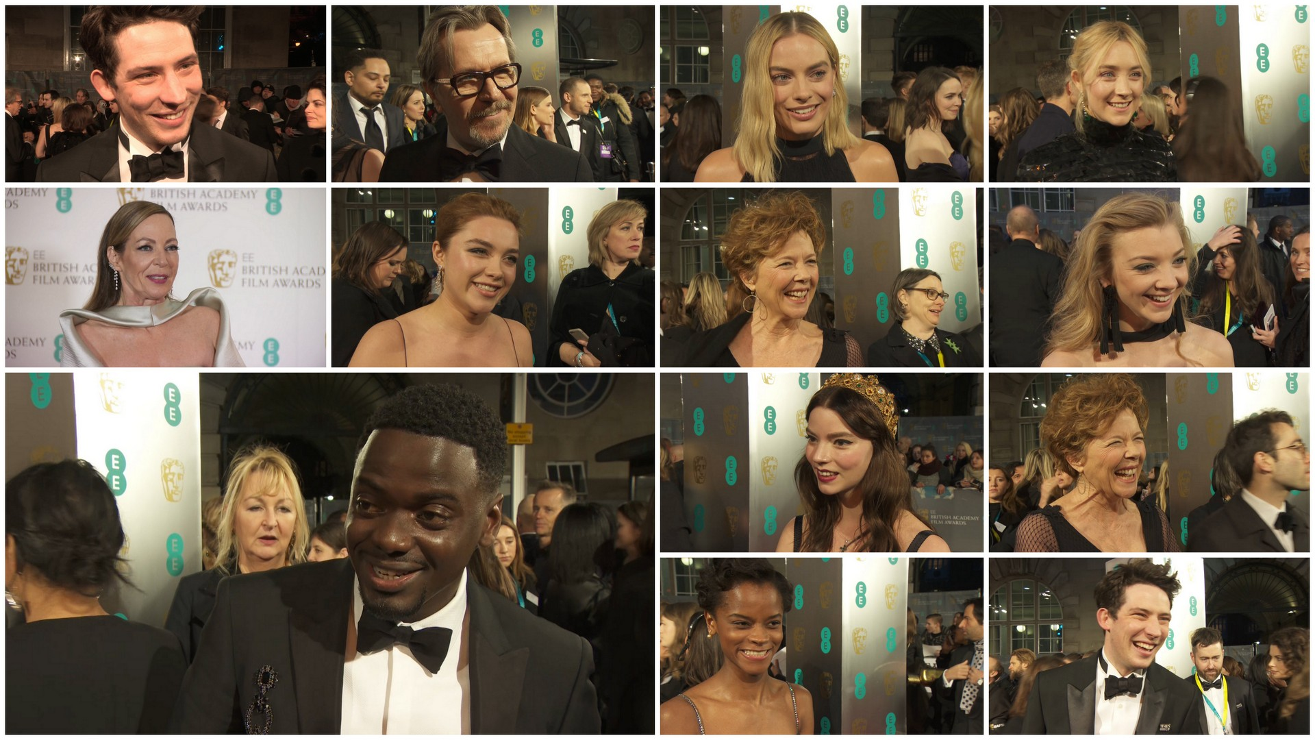 Baftas: The BAFTAs 2018: Red Carpet Interviews And Full List Of