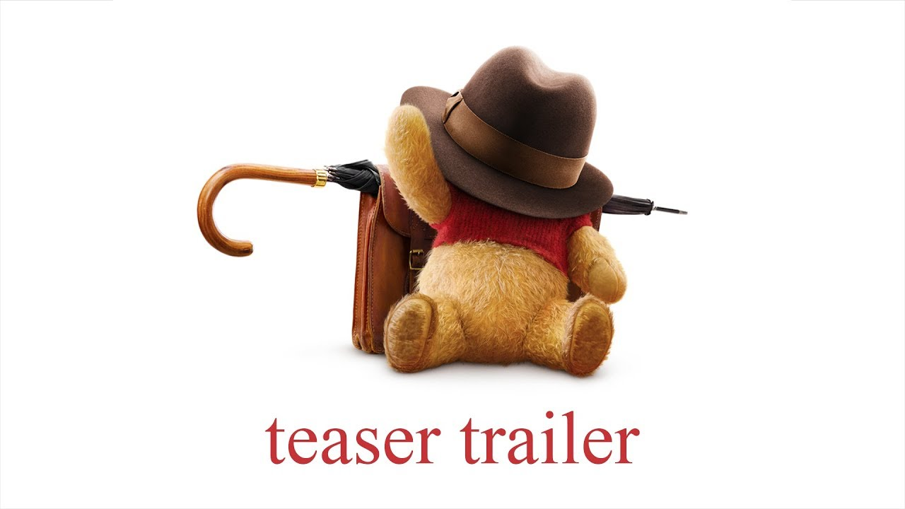 Watch the first teaser for Disney's live-action Winnie the Pooh movie