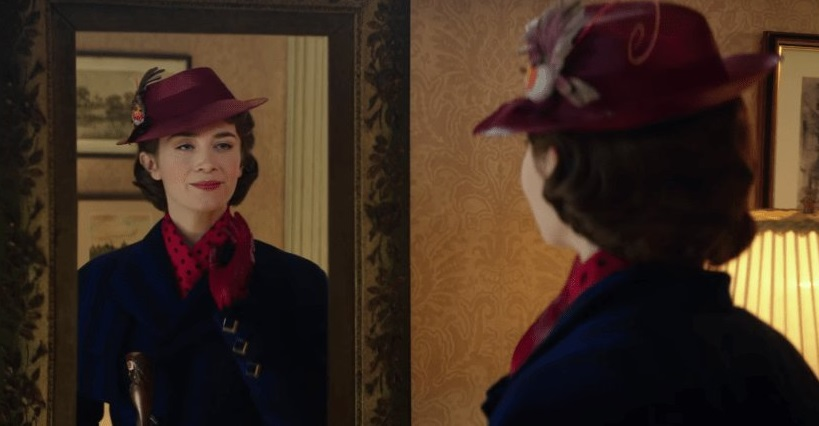 Emily Blunt Flies in With the First Teaser For MARY POPPINS RETURNS