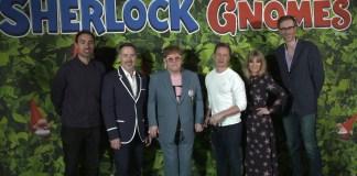 Sherlock Gnomes UK Premiere