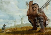 Adam Driver, Jonathan Pryce, stellan skarsgard, Terry Gilliam, The Man Who Killed Don Quixote
