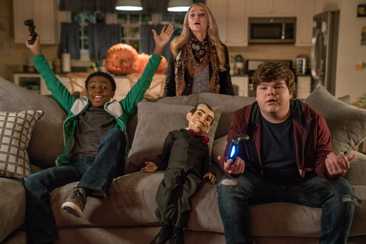 The new stars of Goosebumps 2