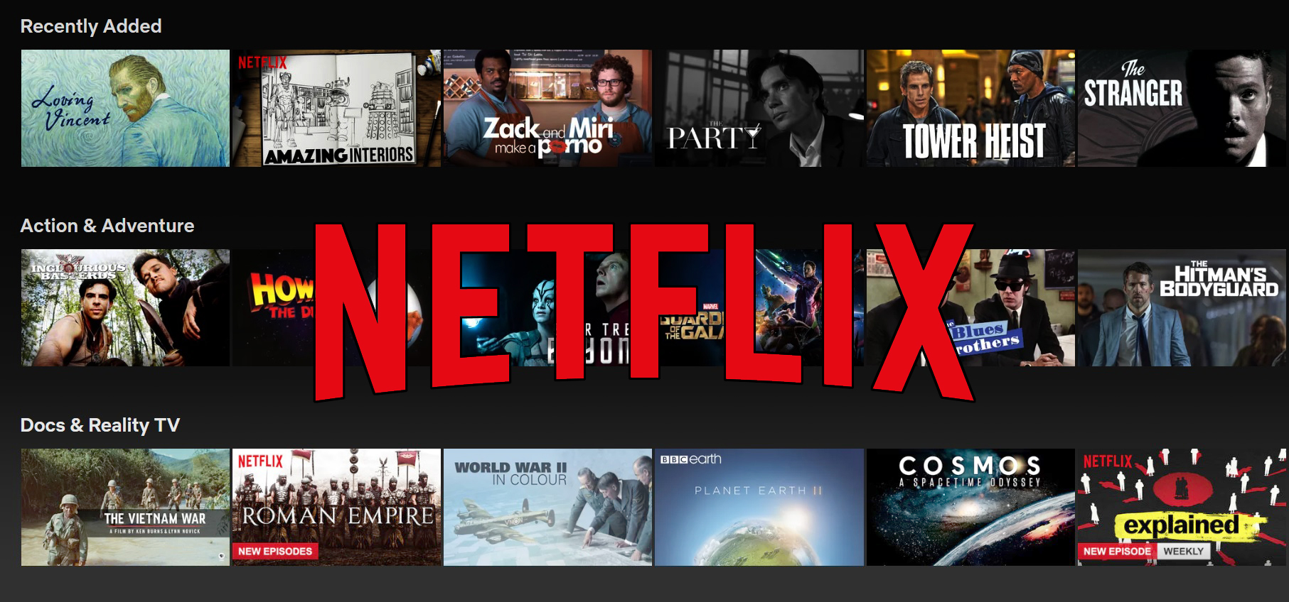 how to find available for download on netflix