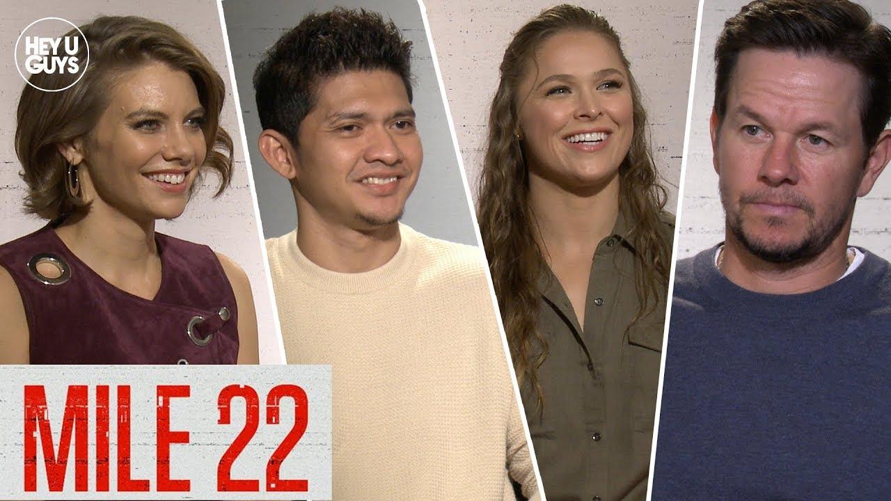 mile 22 cast interviews