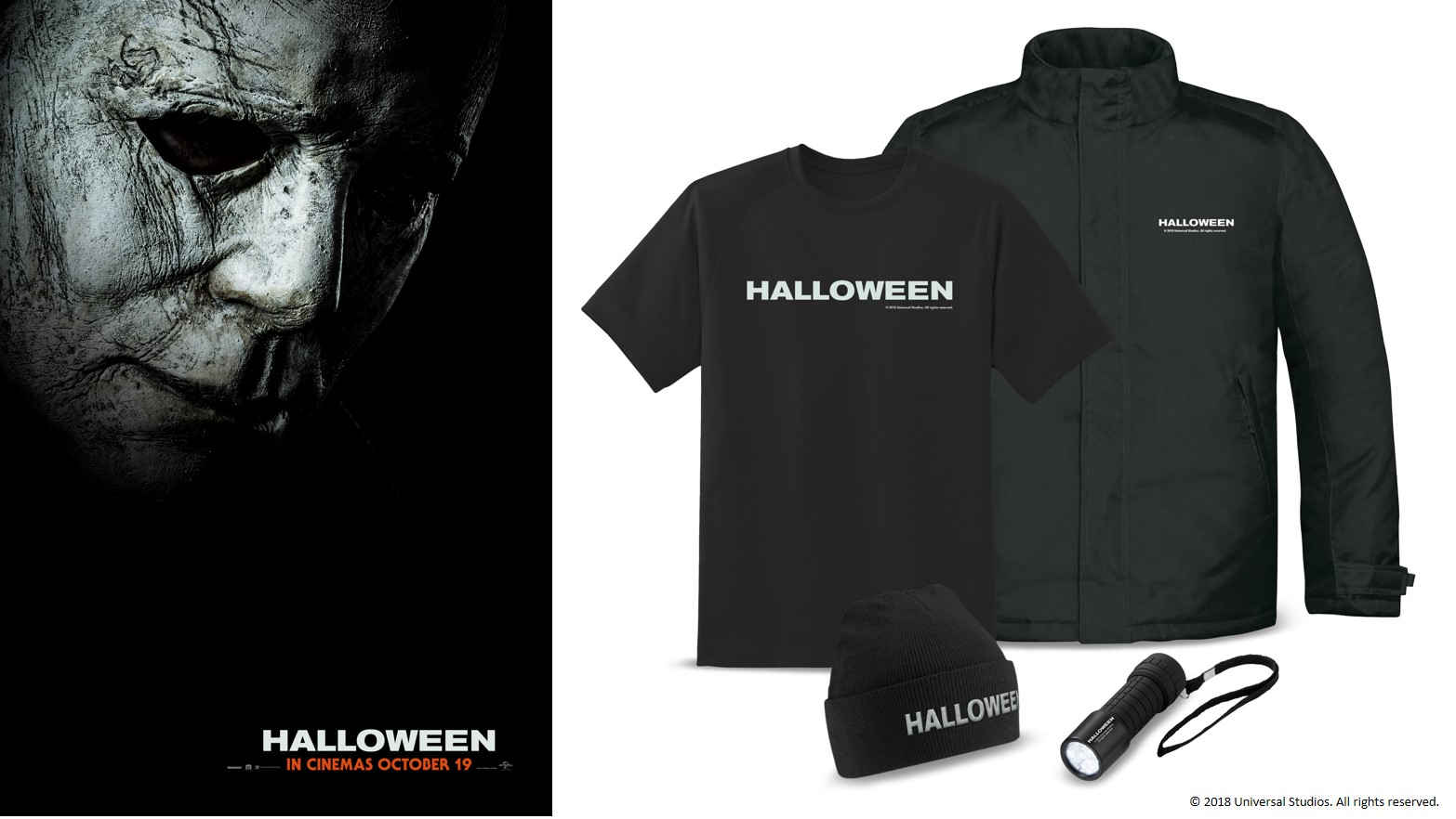 Halloween 2018 Movie Poster: Win Movie Merchandise With Halloween