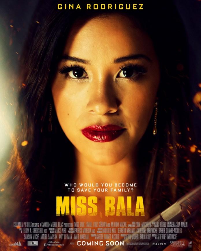 Miss Bala poster