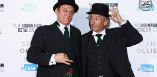 stan & ollie premiere Interviews