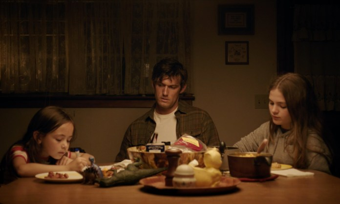 Alex Pettyfer, Chiara Aurelia, and Hala Finley in Back Roads
