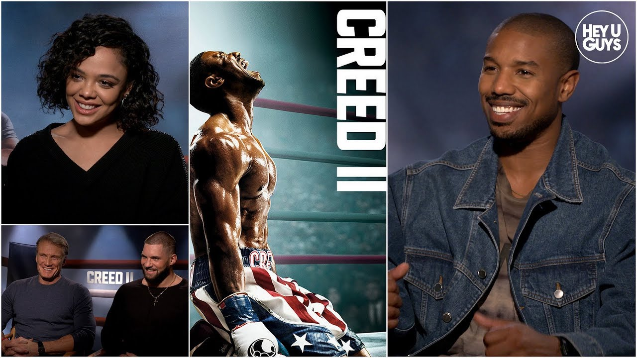 creed 2 cast interviews