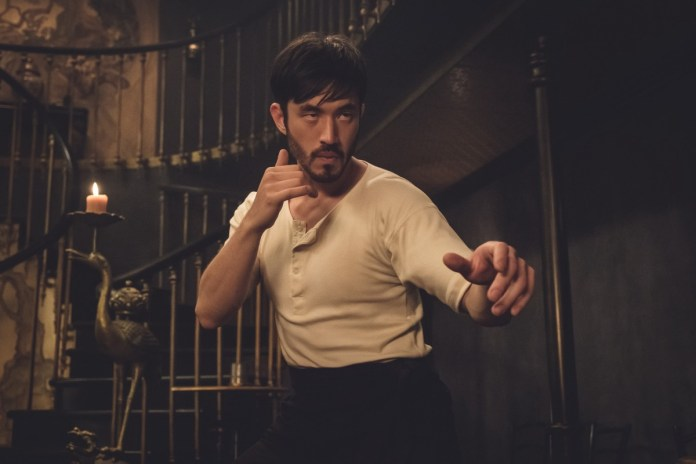 Andrew Koji as Ah Sahm. Credit: David Bloomer/Cinemax
