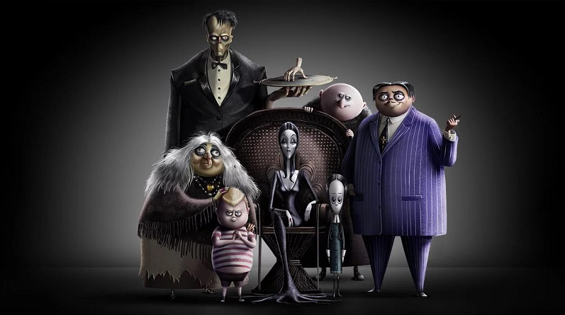 the addams family animated