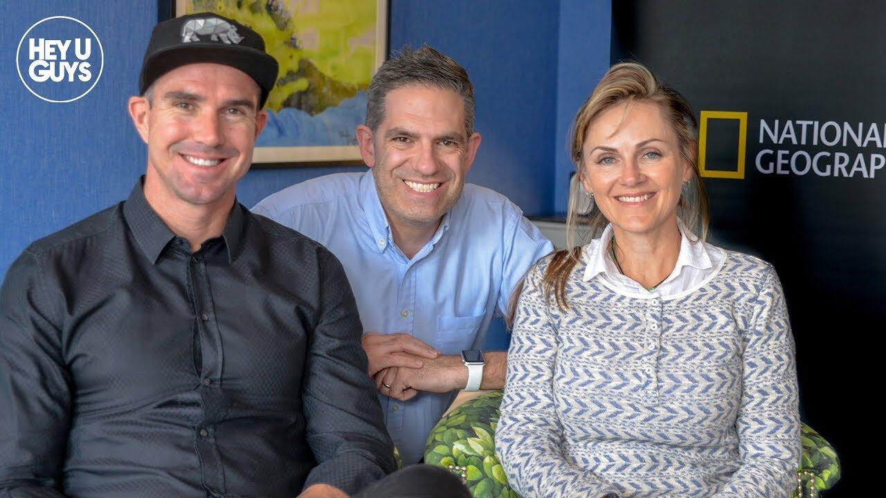 Kevin Pietersen & Petronel Nieuwodt on Save This Rhino