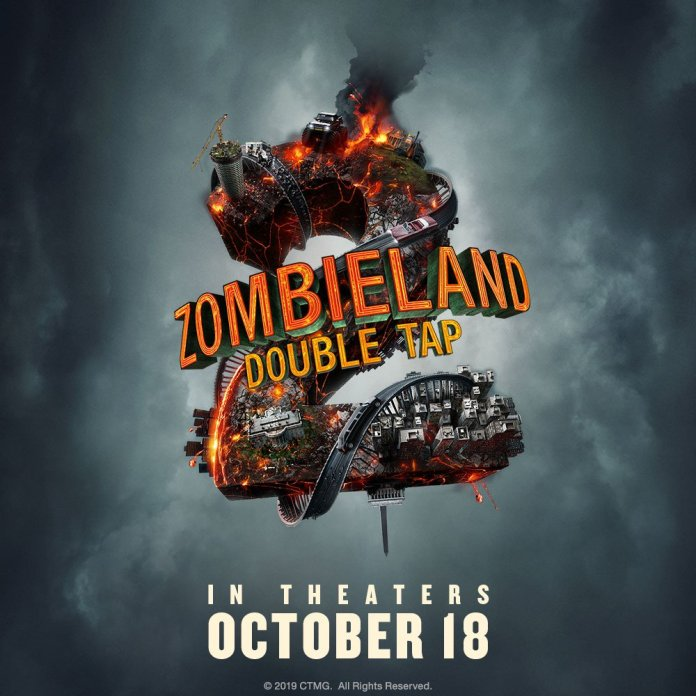 zombieland 2 double tap 2 poster