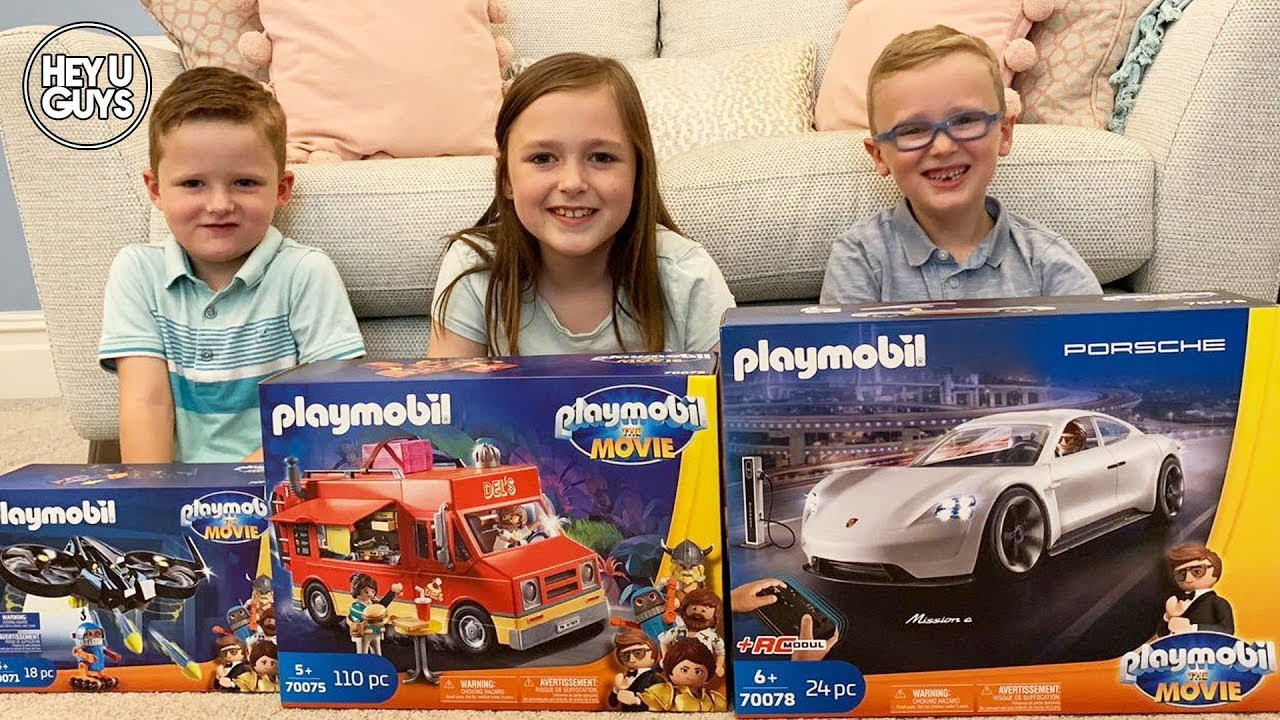 playmobil the movie toy review