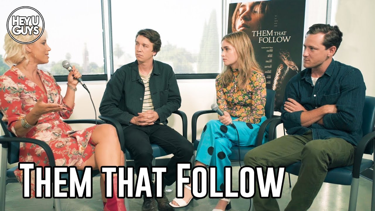 them that follow cast interviews
