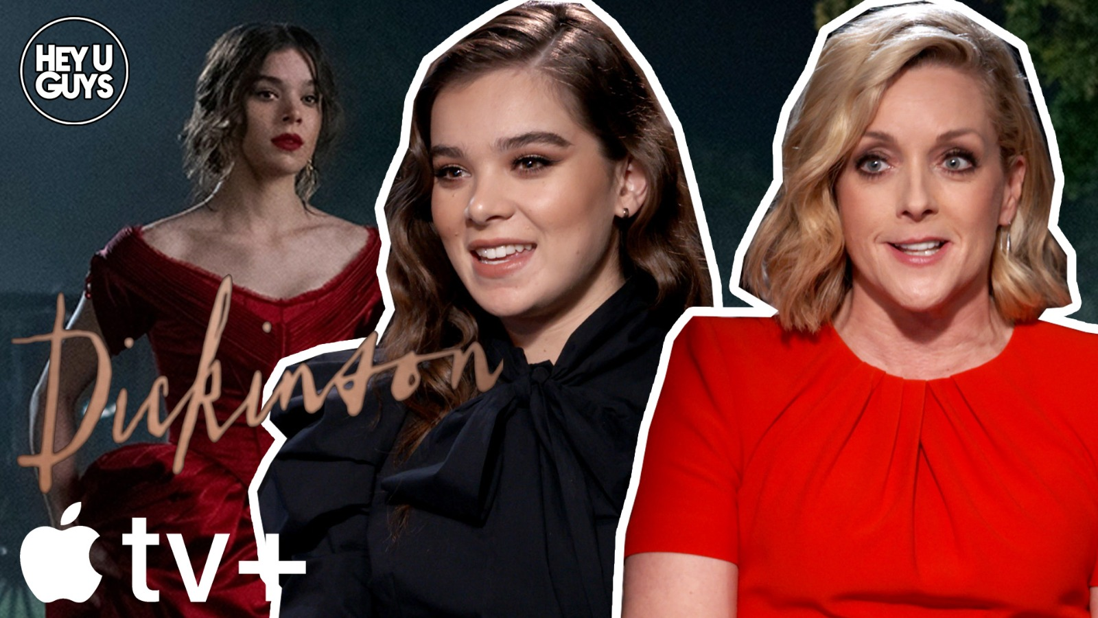 hailee steinfeld jane krakowski dickinson apple tv interviews