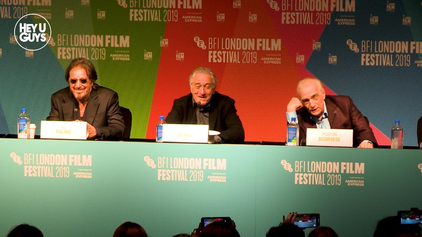 the irishman lff press conference
