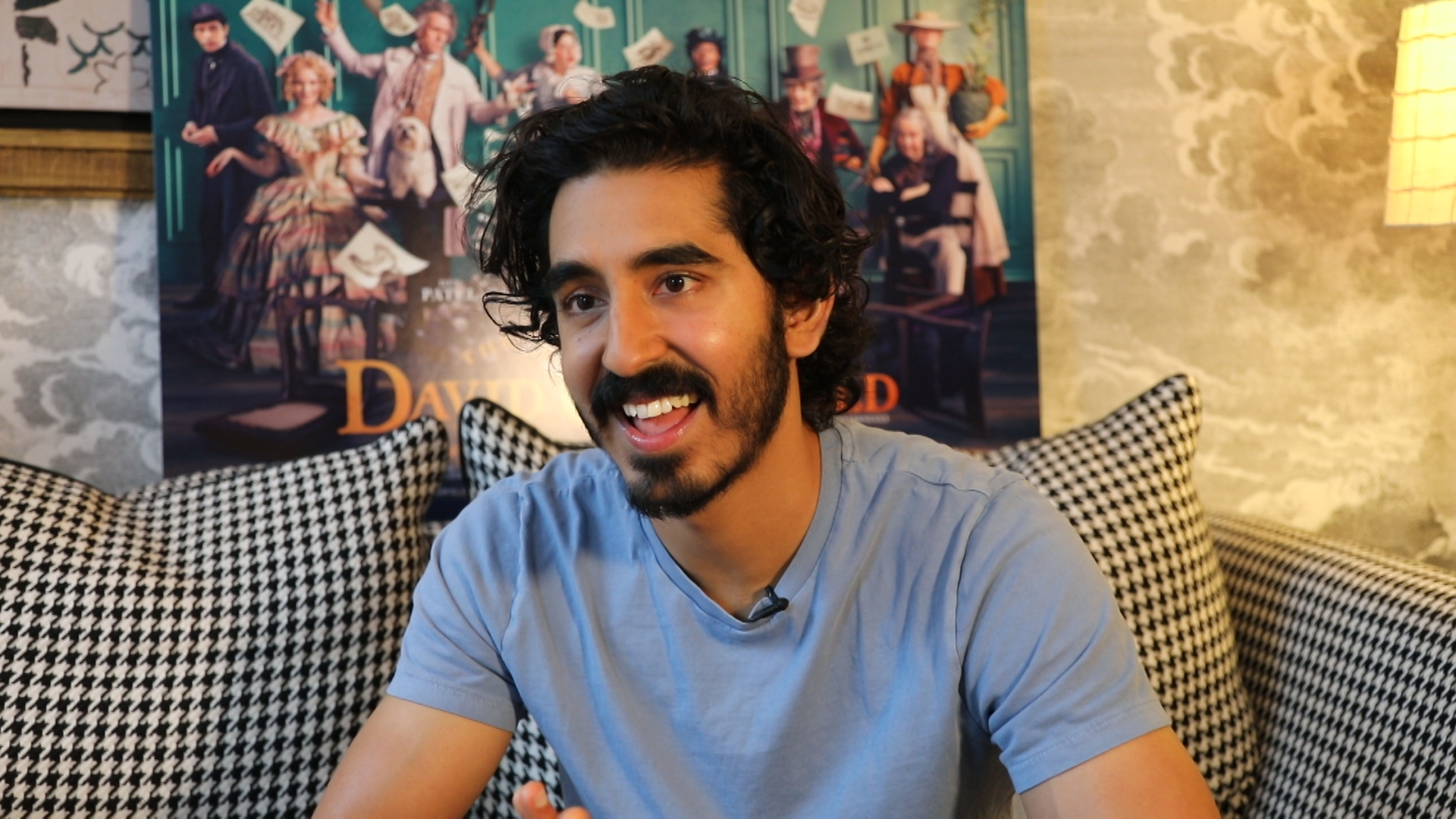 Dev Patel Interview - The Personal History of David Copperfield
