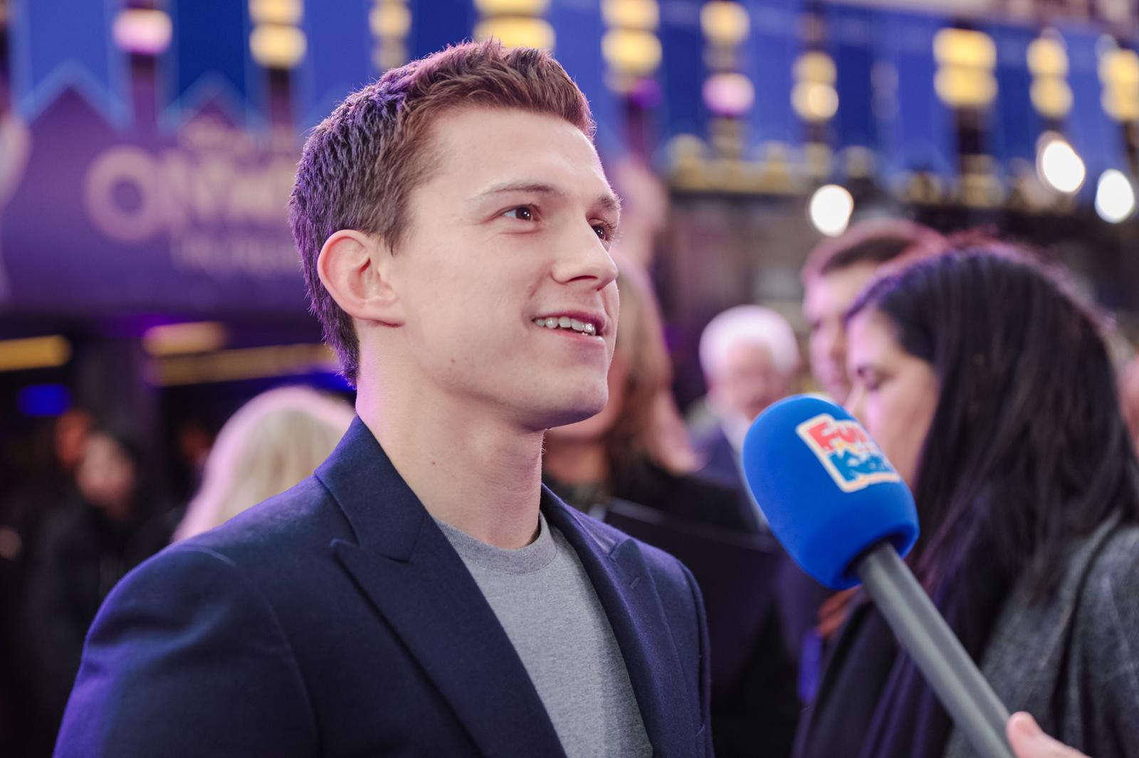 Tom HOlland Onward Premiere