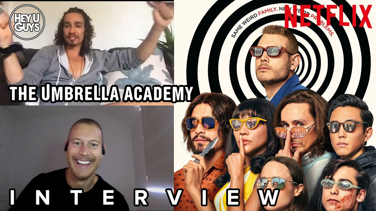 Umbrella Academy Season 2 Interviews