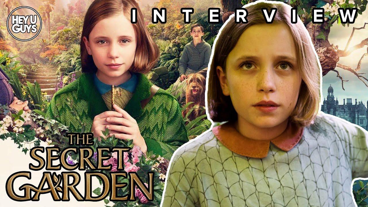 Dixie Egerickx The Secret Garden interview
