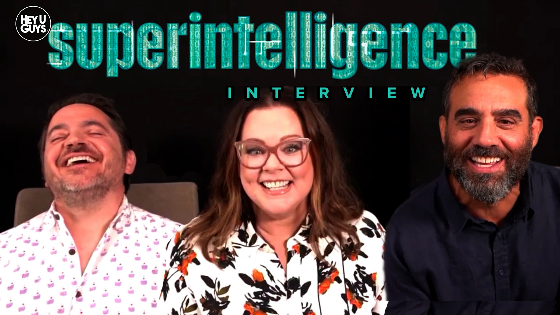 Melissa-McCarthy,-Ben-Falcone-&-Bobby-Cannavale-Interview---Superintelligence