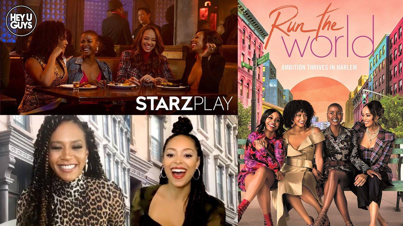 Run the World Cast interviews