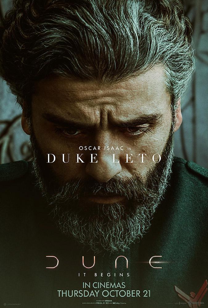 Dune Character Poster Oscar Isaac