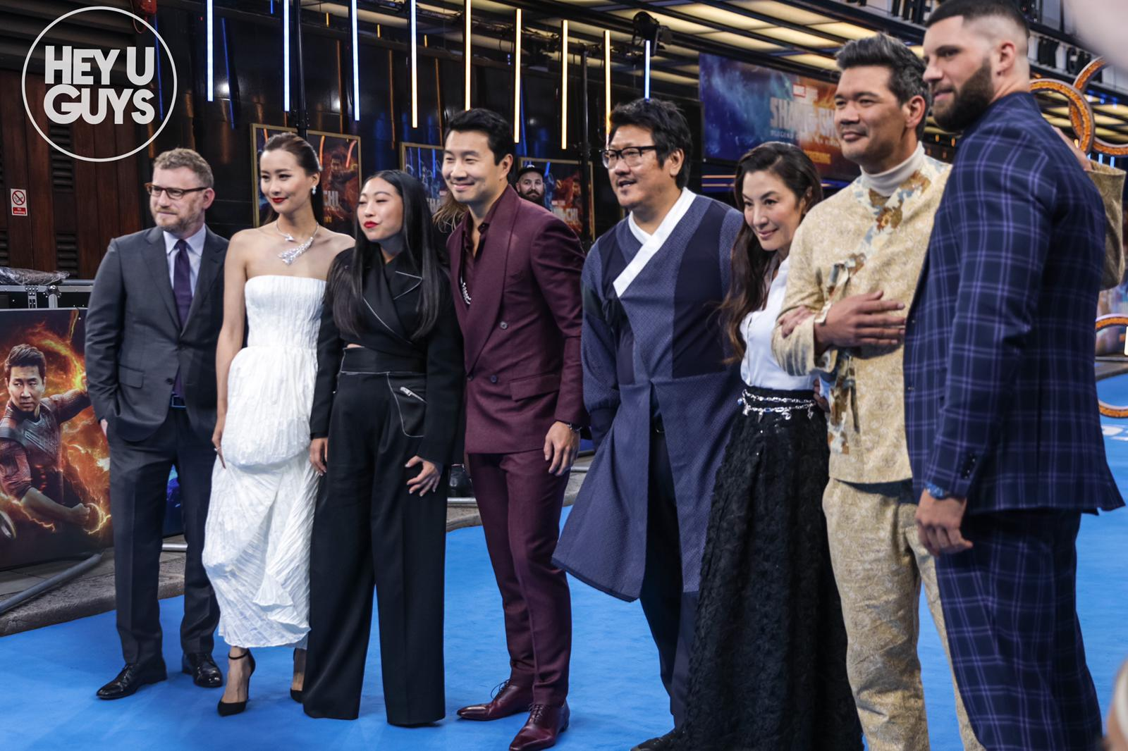 Shang-Chi and The Legend of the Ten Rings UK Premiere