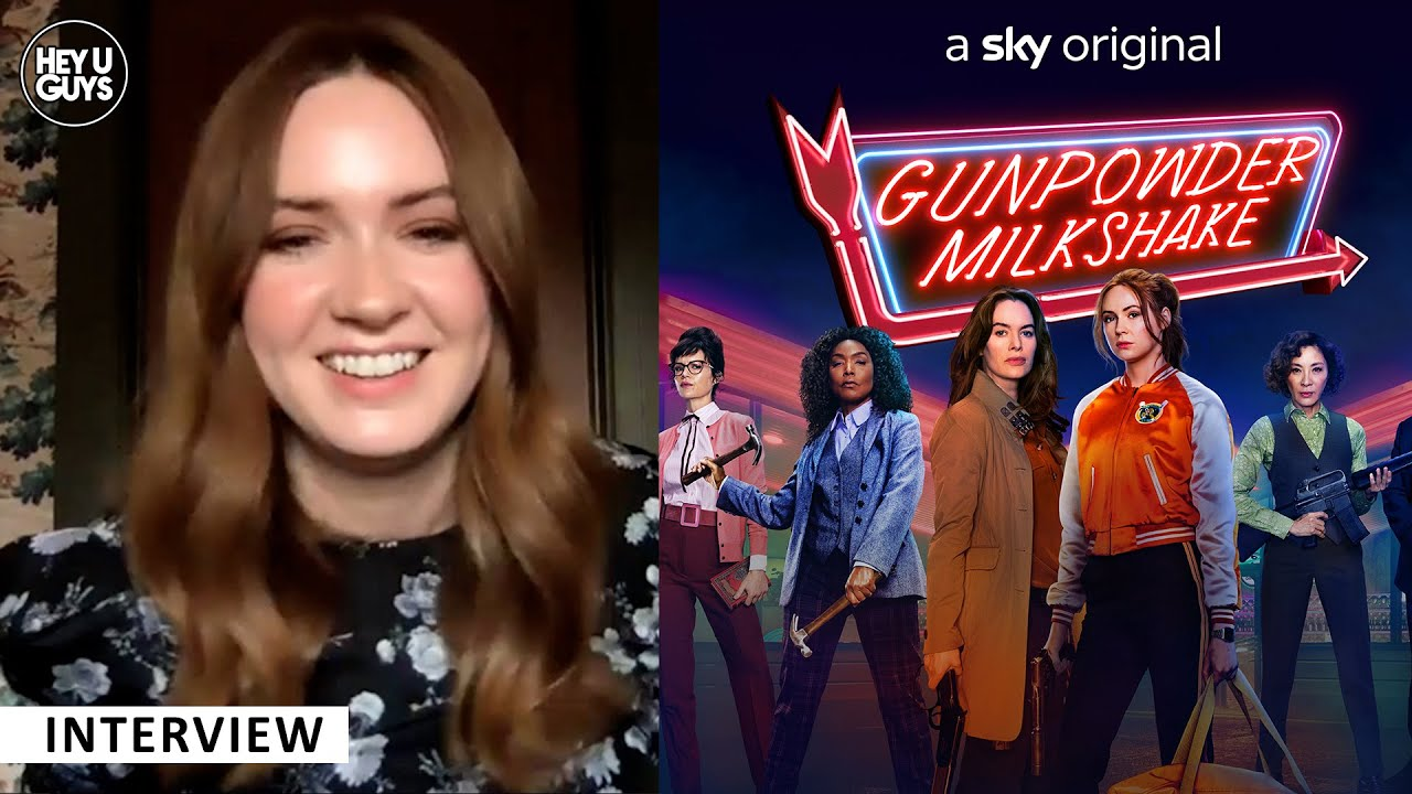 Karen Gillan Gunpowder Milkshake interview