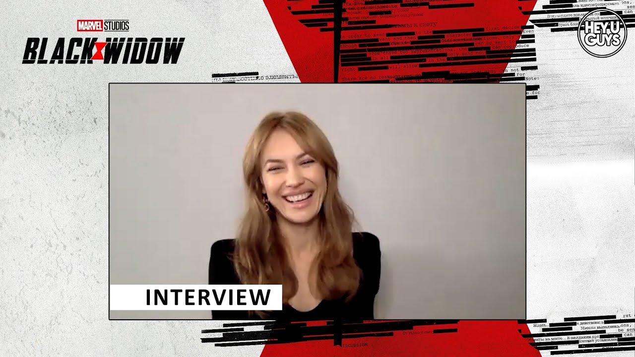 Olga Kurylenko Black Widow Interview