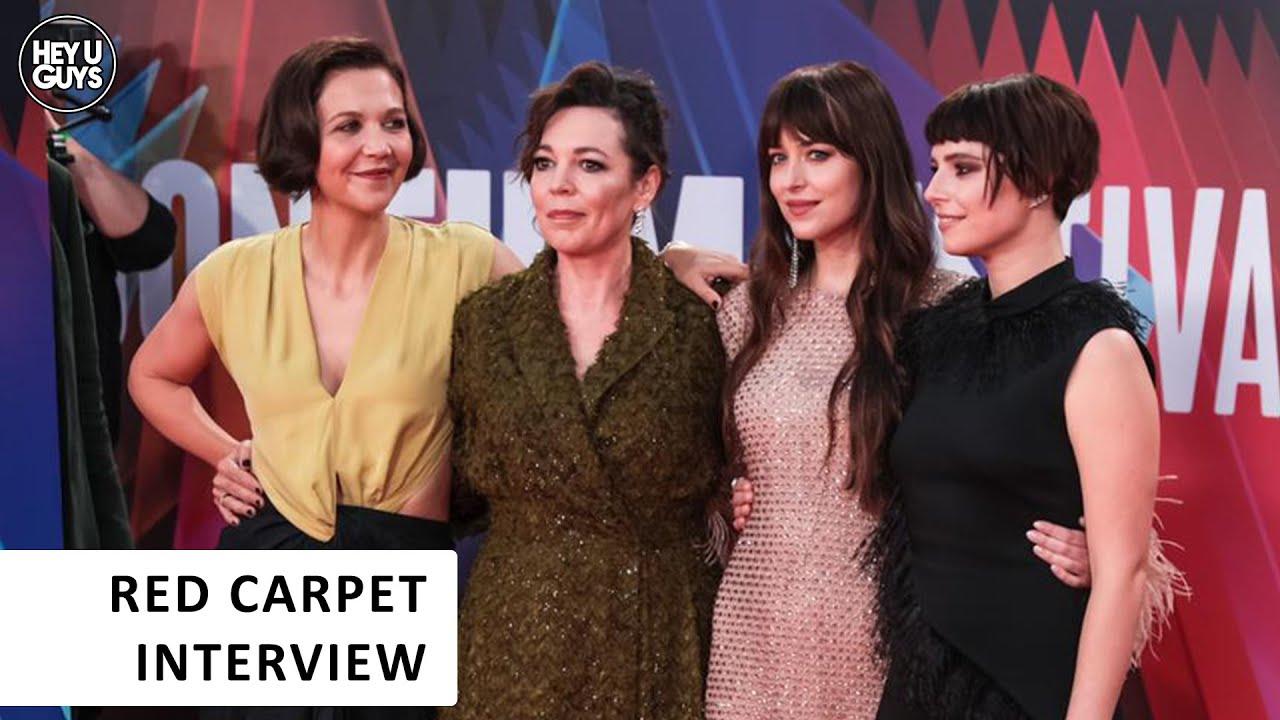 The Lost Daughter LFF Premiere Interviews