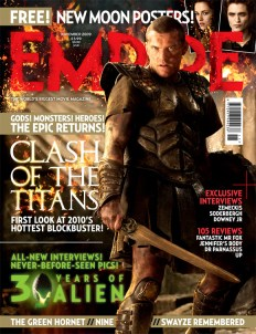 Clash of the Titans Empire Cover