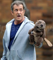 Mel Gibson with a Beaver