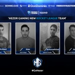 Nueva squad de Rocket League de Hezor Gaming