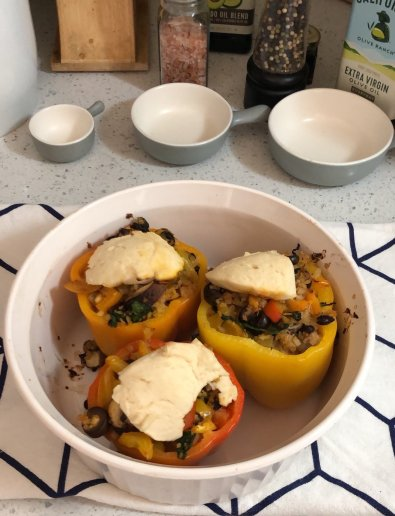 Vegan Stuffed Bell Peppers