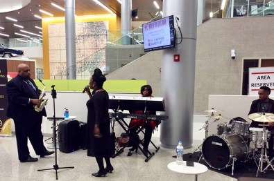 Ronald Rembert Combo at 2017 HFAS Chicago Opening Night VIP Reception