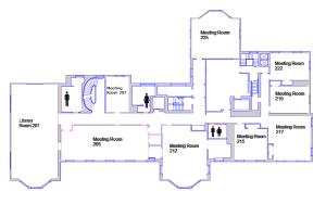 Room Diagrams & Capacity   Harvard Faculty Club