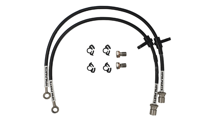 Front Braided Brake Lines