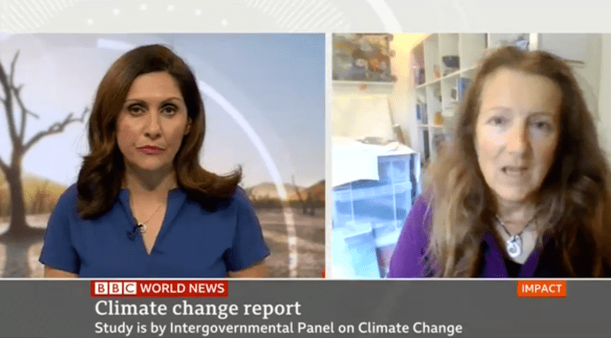 BBC: IPCC Srocc, Clean Arctic Alliance