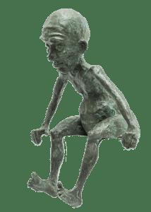 Cliff Statue