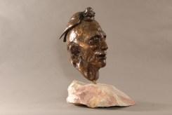 Medicine Crow Statue