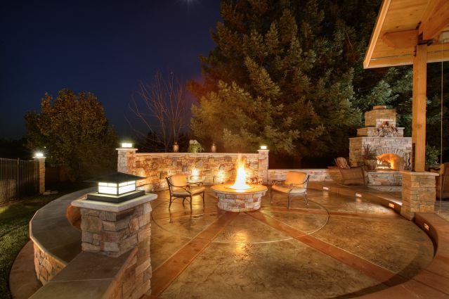 Stamped Concrete Driveway Patio Design Ideas Everything