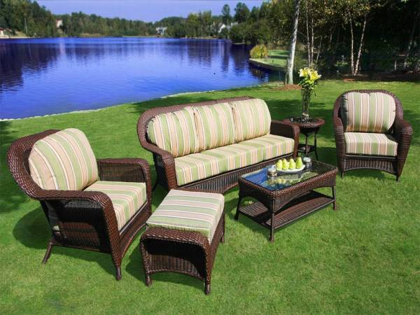 outdoor wicker patio furniture sets Cool Resin Wicker Patio Furniture For All Weather - HGNV.COM