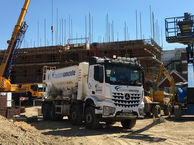 Volumetric Concrete operator all set with TruTac for new HGV